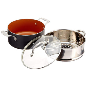 Ti-Cerama Coating 10-Piece Kitchen Set