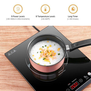 Portable Stainless Steel Induction Cooktop