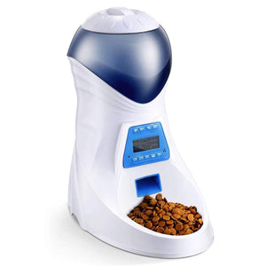 Timer Programmable Pet Feeder For Dogs And Cats