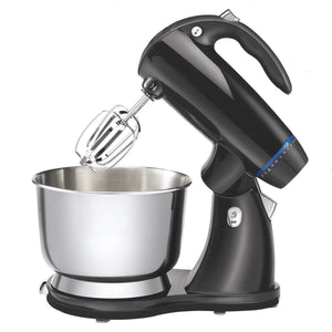 Stand Mixer With Dough Hooks and Beaters,Black
