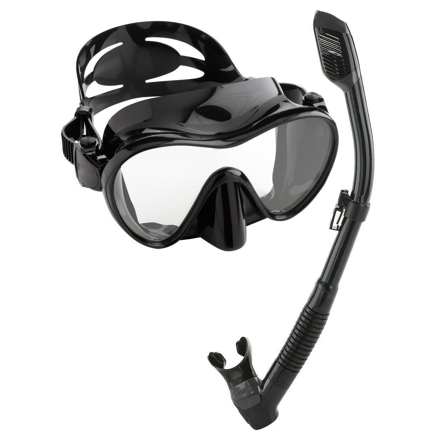 Snorkeling Freediving Mask Set