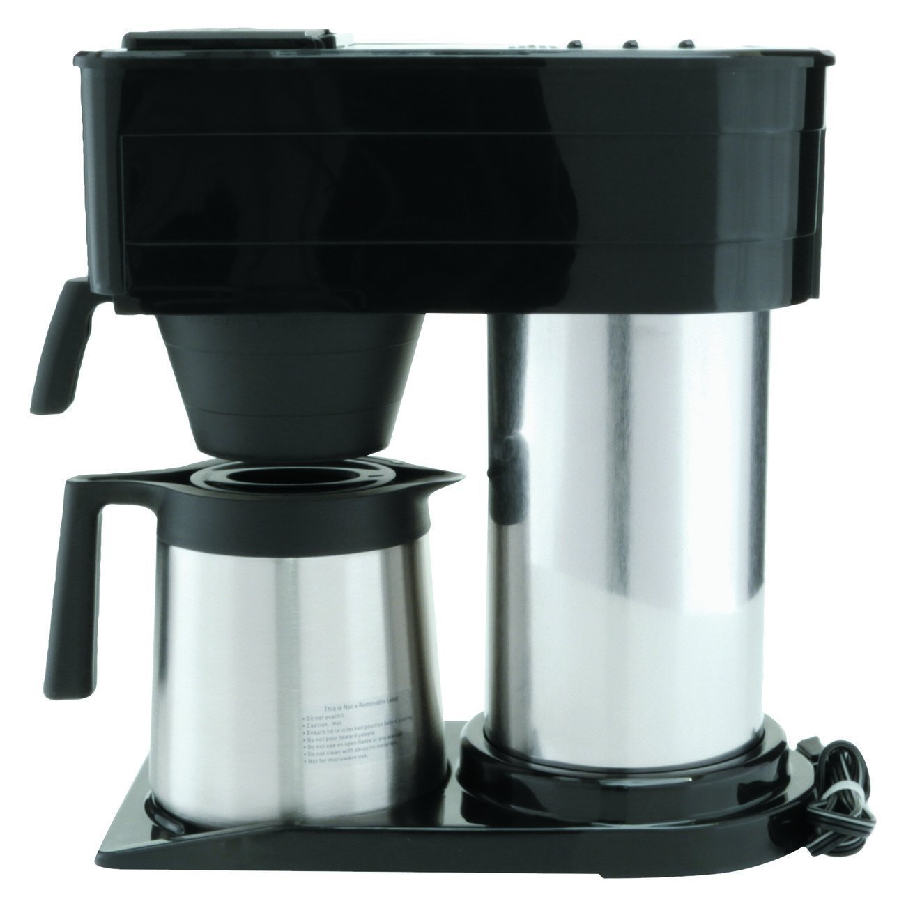 Platinum Thermal Coffee Maker, 10-Cup