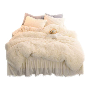 Luxury Plush Shaggy Duvet Cover Set