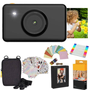 Mini Shot Instant Camera Gift Sets(Black)