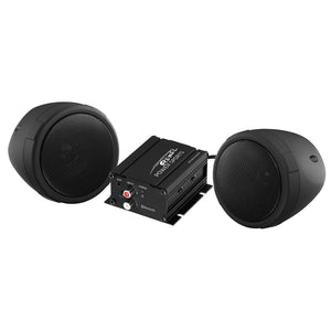 Weatherproof Speaker And Amplifier Sound System