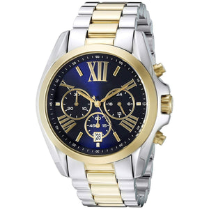 Men's Two-Tone Water Resistant Watch