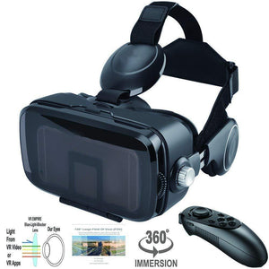 Anti-Blue-Light Virtual Reality Headset