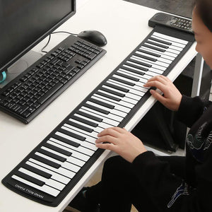 Portable Soft Silicone Flexible Electronic Piano