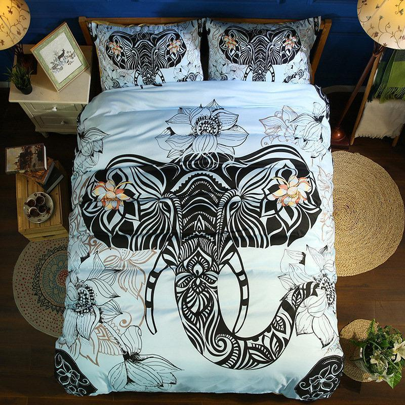 3Pcs Microfiber Bedding Set