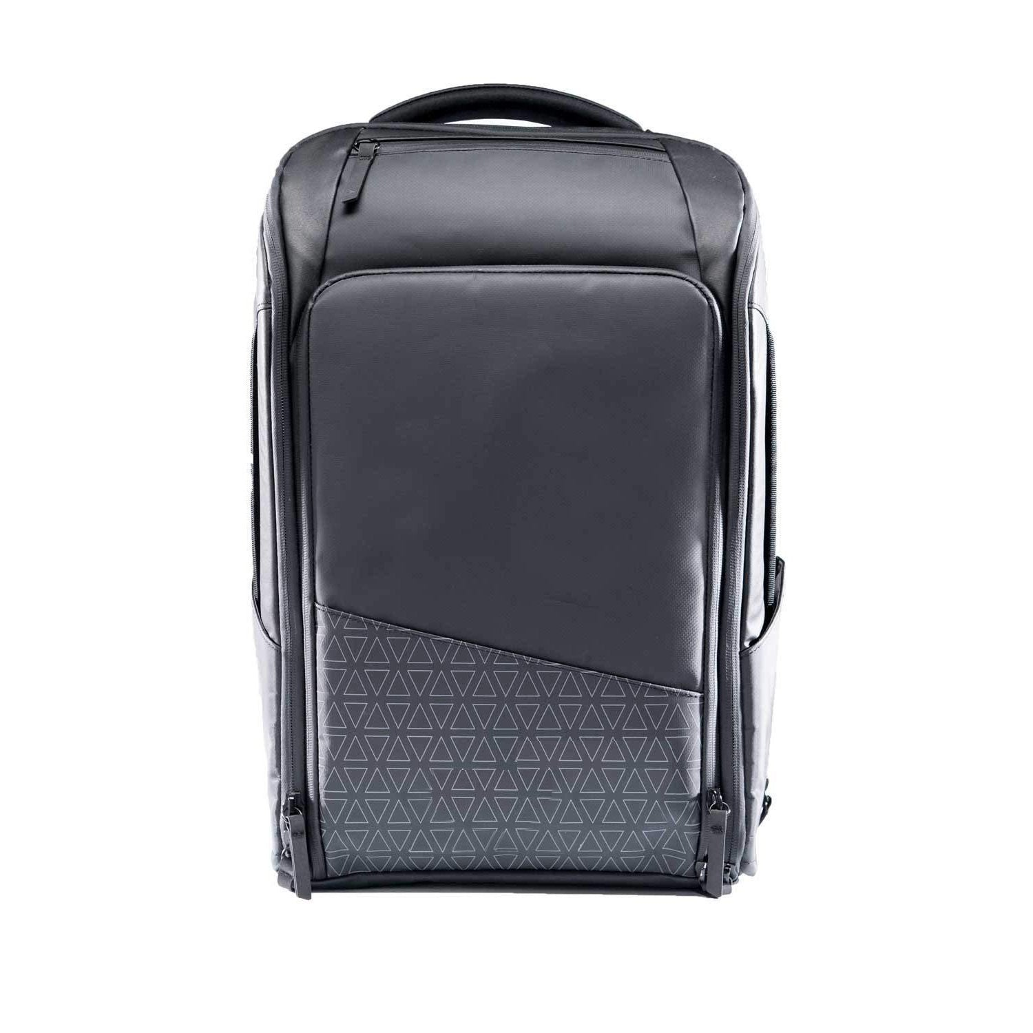 Slim Black Water Resistant Anti-Theft 20L Laptop Bag