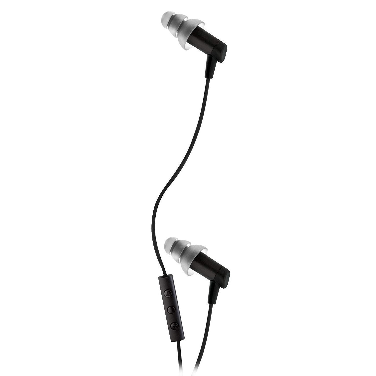 Noise-Isolating Earphones with 3 Button Microphone Control