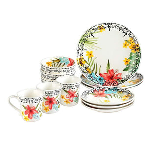 Round Dinner Dinnerware Set