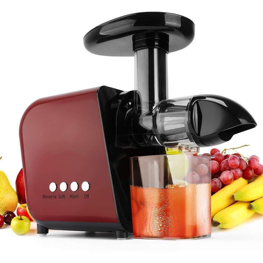 Slow Masticating Juicer Extractor With Reverse Function