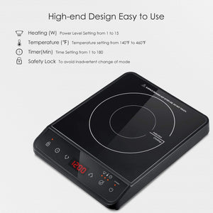Portable Induction Countertop Burner