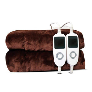 Polyester Warm Waterproof Quilted Electric Warming Blanket