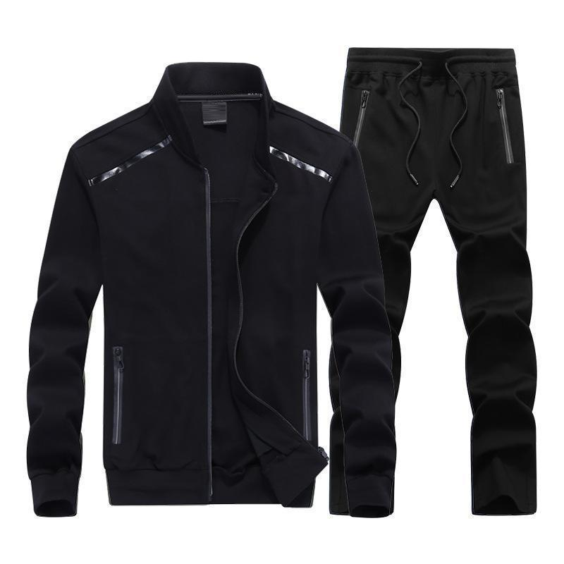 Solid Color Outdoor Men's Sports Suit