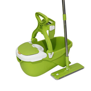 Mop and Bucket System for Floor Cleaning