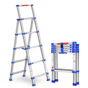Telescopic Aluminium Folding Multi-Purpose Ladder