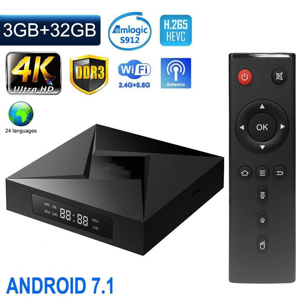 Dual-Band WiFi Android 7.1 TV Box