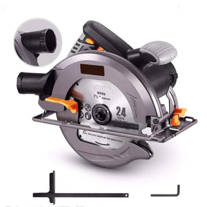Circular Saw With Lightweight Aluminum Guard
