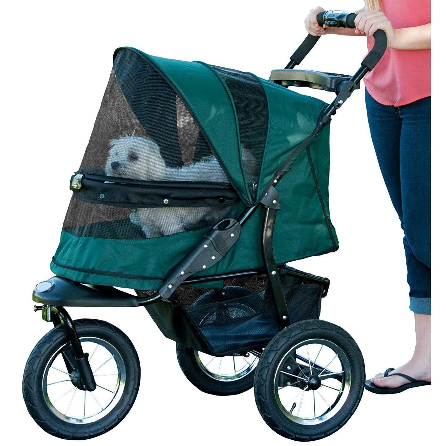 Easy One-Hand Fold Pet Stroller