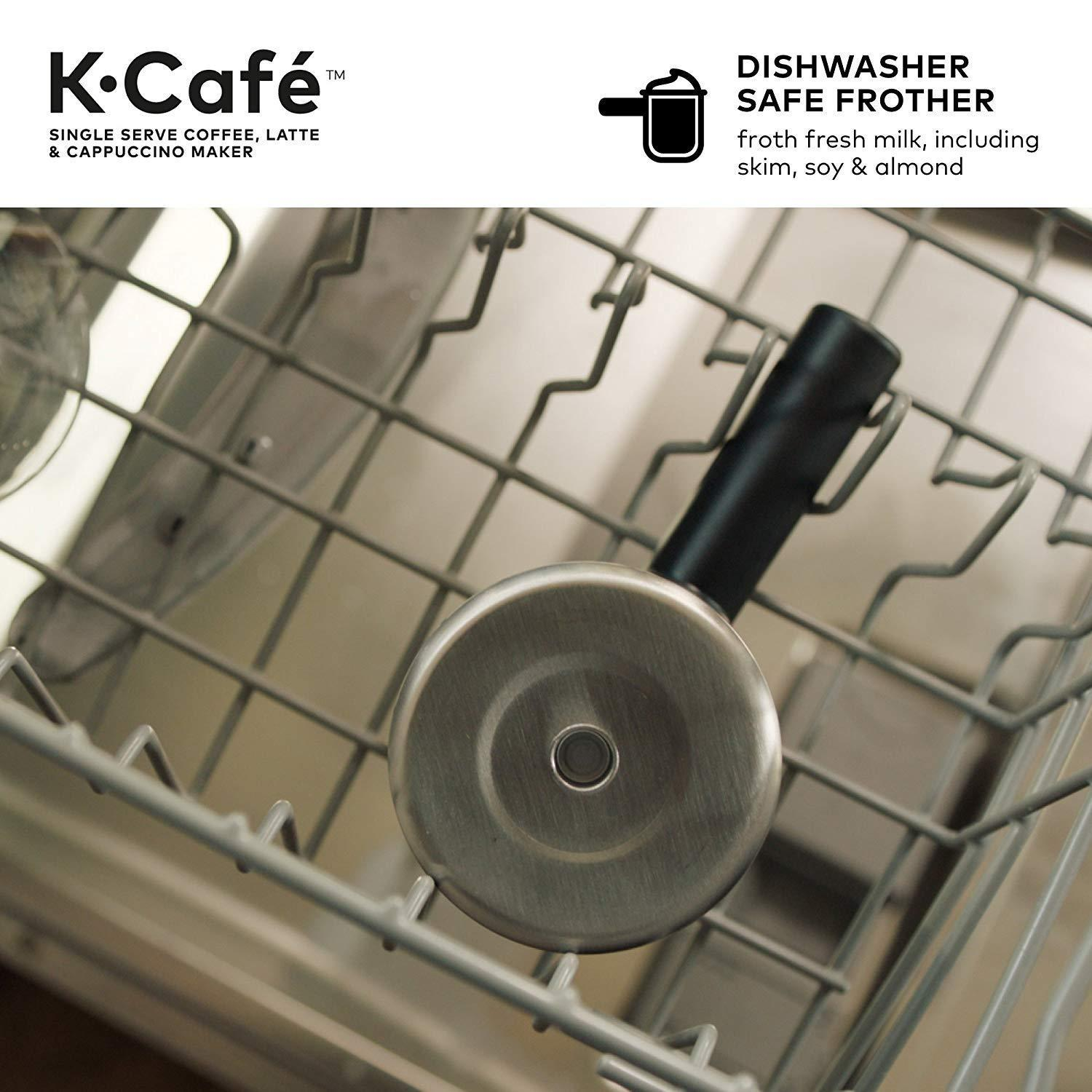 K-Cafe Single Serve K-Cup Pod Coffee, Latte and Cappuccino, K-Caf¨¦