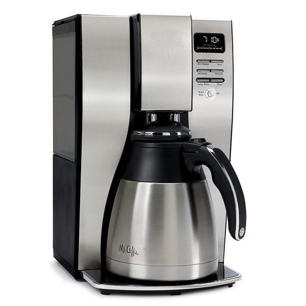 Optimal Brew 12-Cup Programmable Coffee Maker with Thermal Carafe