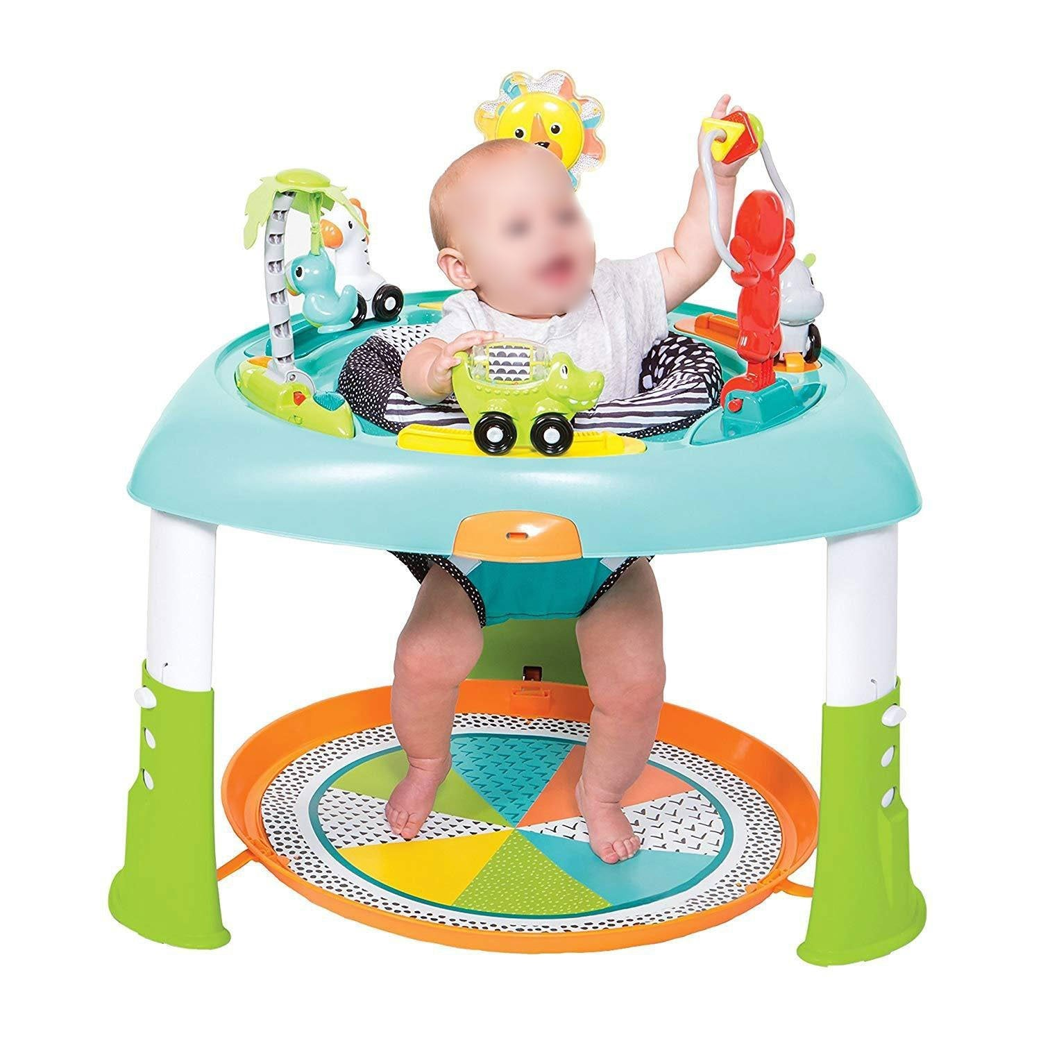 Easily Folds Baby Seats Includes 6 Toys