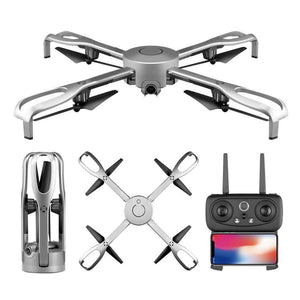 Wide-Angle Foldable Quadcopter Drone