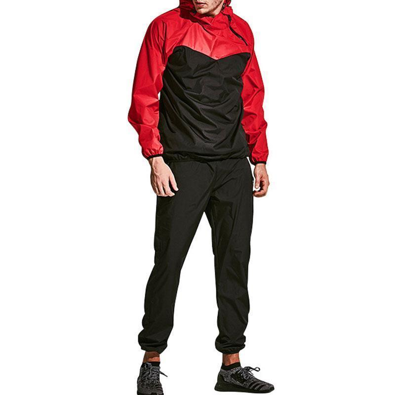 Street Hit Color Outdoor Men's Sports Suit