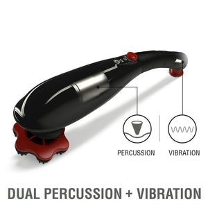 Vibration Therapy Massager(Black)