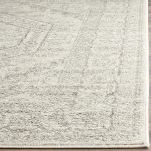 Ivory And Silver Vintage Rug(6 X 9)