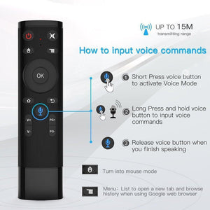 Ultra HD Smart TV Box With Voice Remote