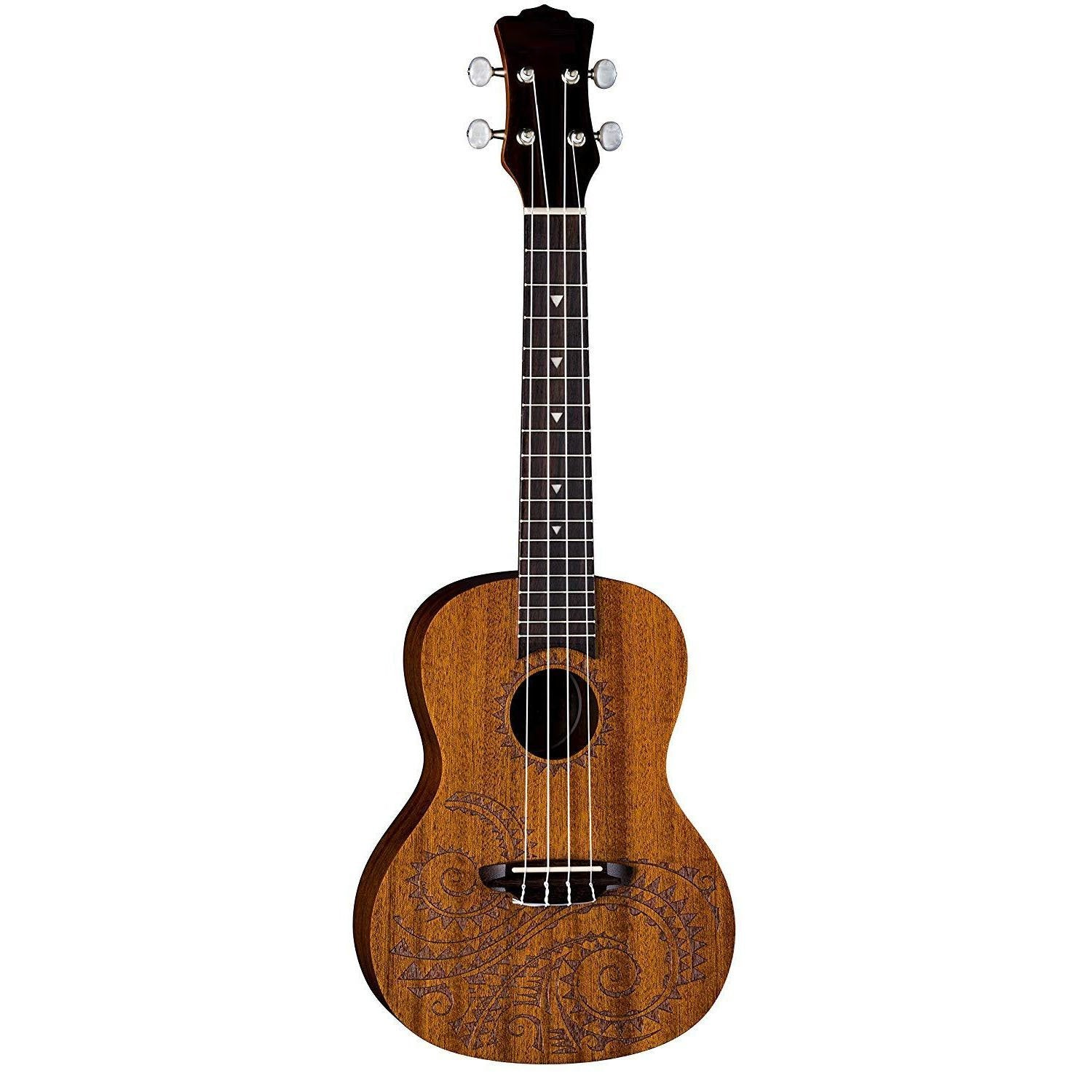 Mahogany Ukulele with Gig Bag,Satin Natural