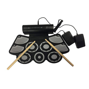 Rechargeable Battery OR USB Powered Drum Attached Speaker