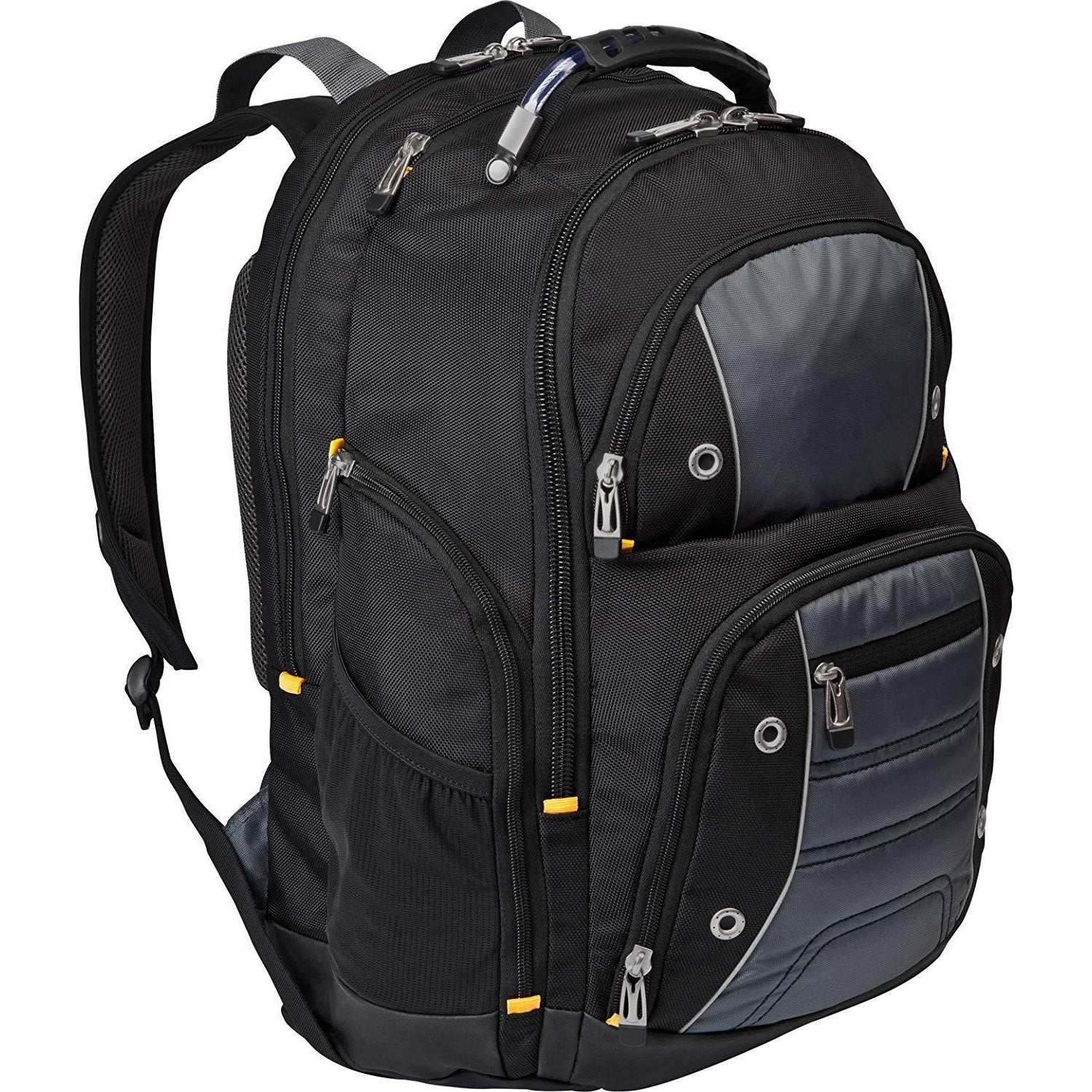 Backpack for 17-Inch Laptop, Black/Gray