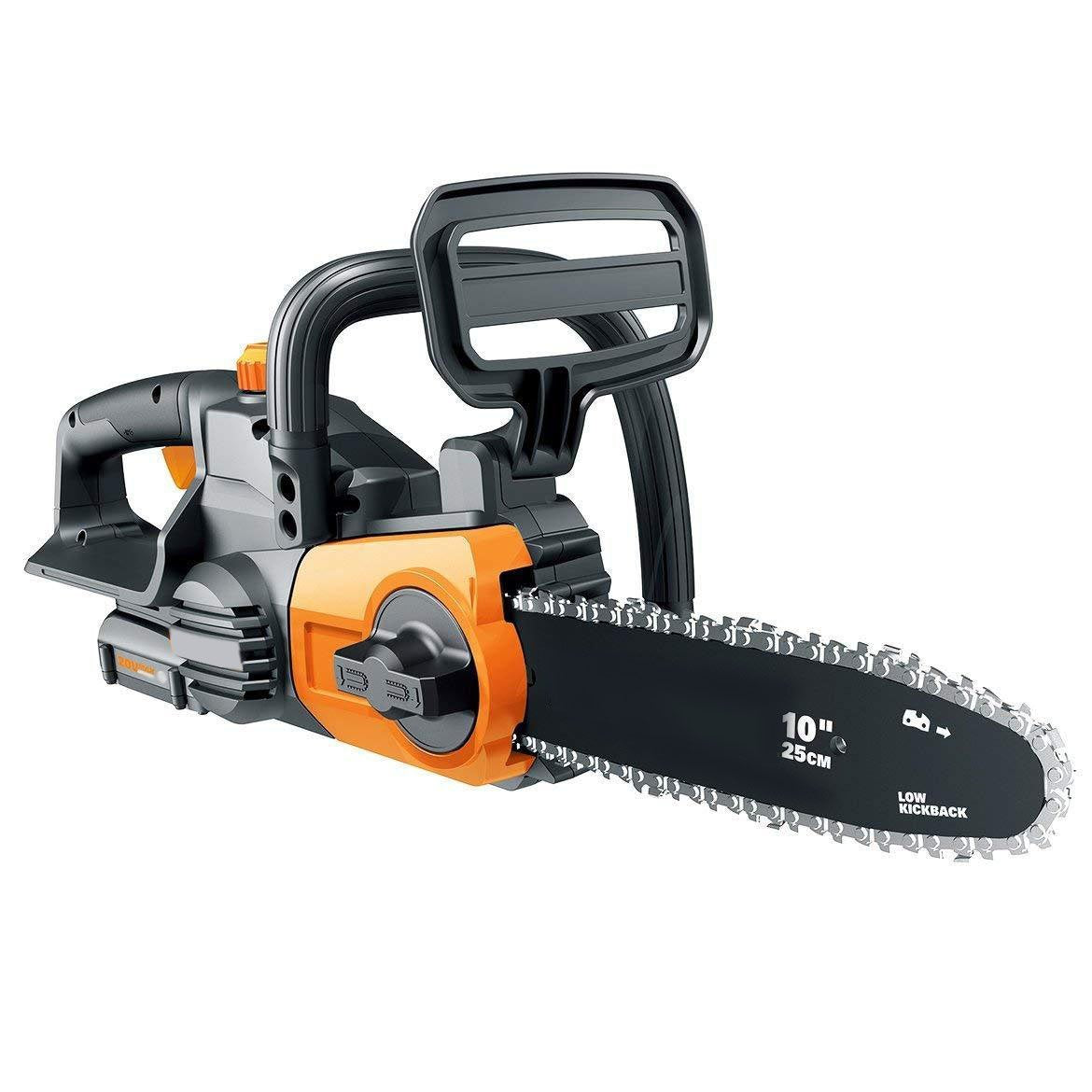 20V Cordless Chainsaw With Auto-Tension