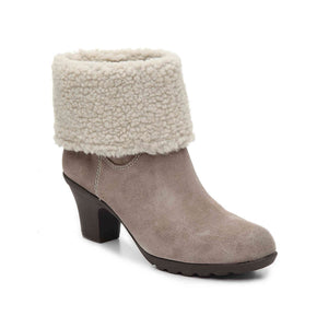 Faux Fur Sport Ankle Boot