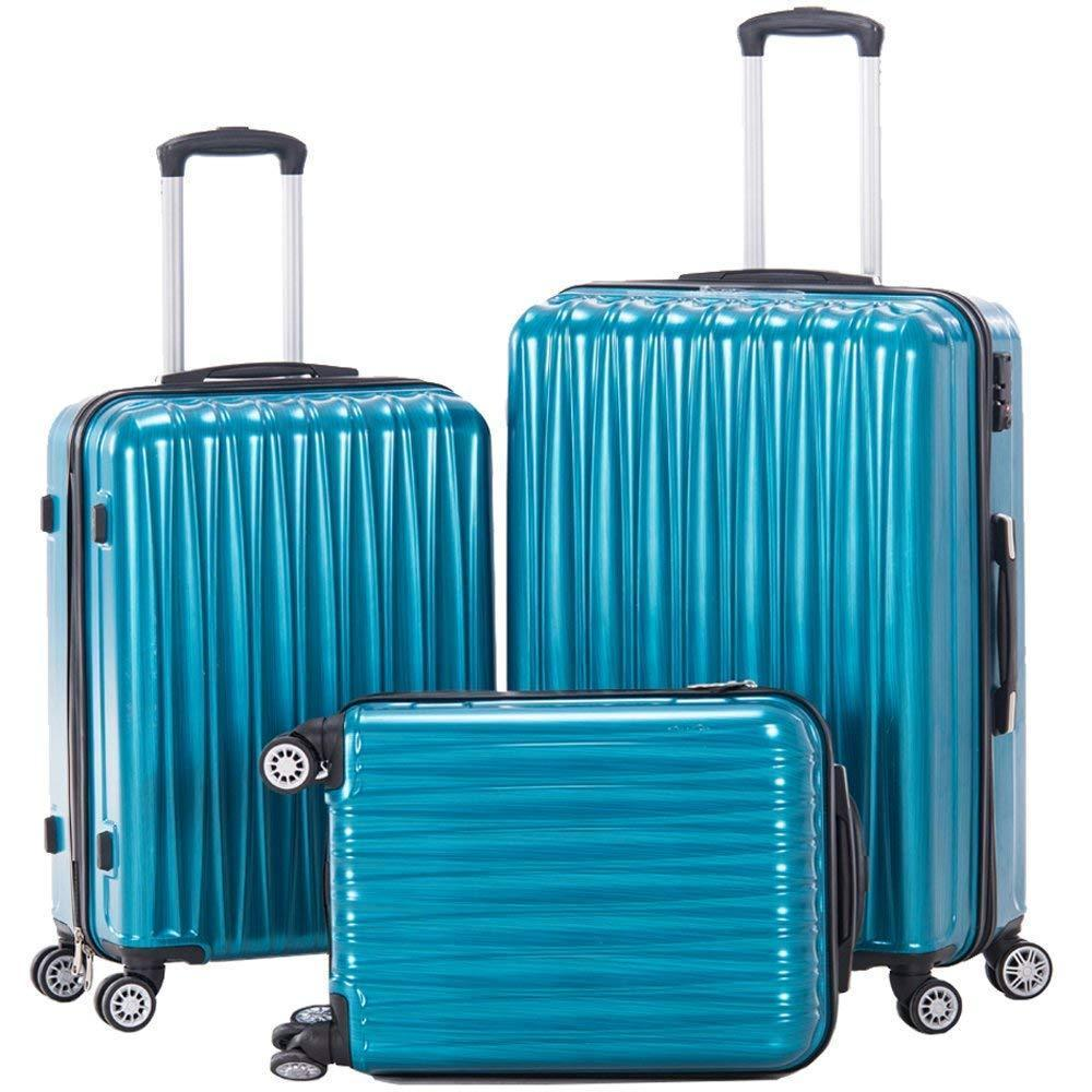 3 piece Lightweight Luggage Set with TSA lock