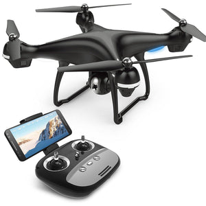 Quadcopter With Adjustable Wide-Angle WIFI Camera