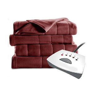 Quilted Fleece Electric Blanket