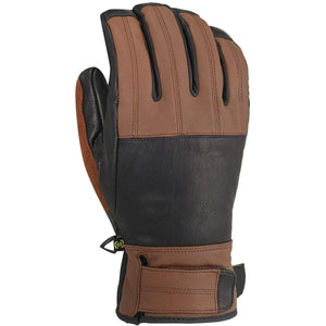 Removable Wrist Leash Leather Gloves