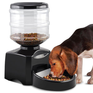 Large Electronic Control Pet Automatic Feeder