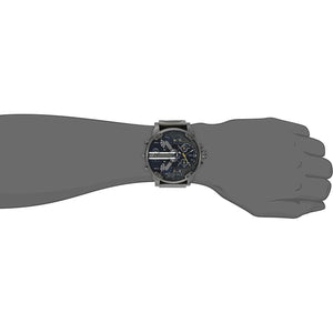 Men's Stainless Steel Watch With Analog Display