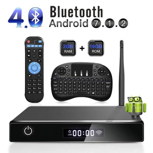Quad Core 64 Bits Processor 3D TV box