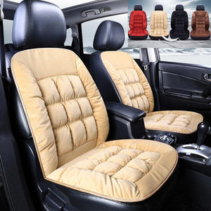 Size Winter Thicken Short Plush Car Seat Cover