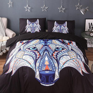 3Pcs Fashionable 3D Pattern Bedding Sets Duvet Cover