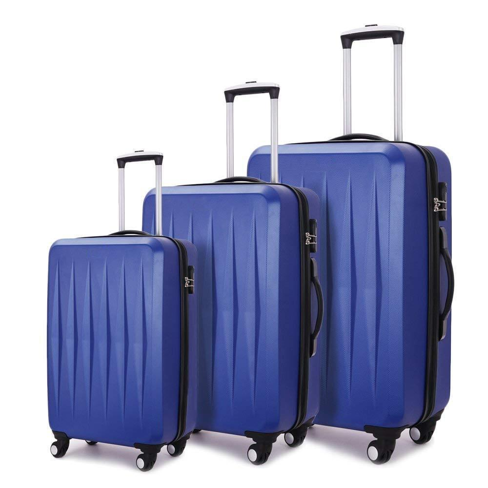 Lightweight Durable 3 Piece Luggage Set