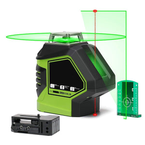 Self-Leveling Green Laser Level 360 Cross Line