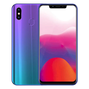 5000mAh 6.18 Inch Notch Bezel-less Mobile Phone